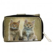 Tri-Fold Wallet - Kitty Print - WL-197CAT2-1